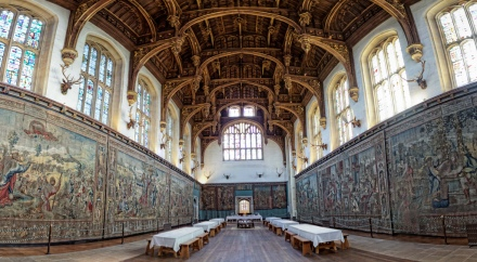 Hampton Court Palace - Great Hall; Photo by Gareth L Evans